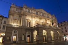 La Scala Opera House, Milan Royalty Free Stock Images