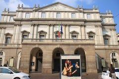 La Scala, opera Mediolan, Włochy Zdjęcie Stock
