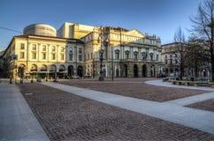 La Scala opera w Mediolan, Włochy Fotografia Stock