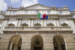 La scala teathre, milan Royalty Free Stock Photography