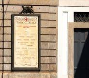 La Scala-Theater, Mailand, Italien lizenzfreie stockfotografie
