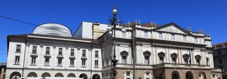 La Scala Theater, Milan royalty free stock photo
