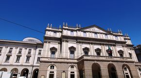 La Scala Theater, Milan Stock Image