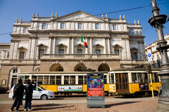 La Scala theatre, Milan Royalty Free Stock Images