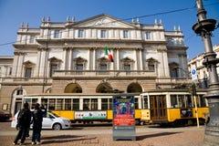 La Scala theatre, Milan royalty free stock images