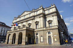 La Scala Theatre in Milan Royalty Free Stock Photos