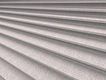La scala urbana del granito fa un passo primo piano Fotografia Stock