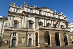 The exterior of La Scala opera house Stock Photo