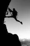 La scalata è divertimento Fotografia Stock Libera da Diritti