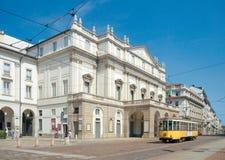 La Scalatheater (1778), Milaan, Italië Stock Foto