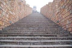 La scaletta del castello Fotografia Stock