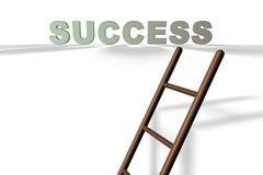 La scaletta di successo Immagine Stock Libera da Diritti