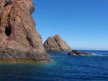 La Scandola van Corsica royalty-vrije stock foto's