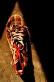 La scarpa da tennis controllata Fotografia Stock Libera da Diritti