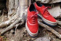 La scarpa degli uomini alla moda Immagine Stock Libera da Diritti