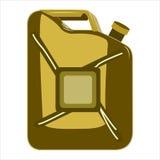 La scatola metallica del ferro Fotografia Stock