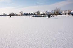 La scena dell'inverno in Weiden vede Fotografie Stock Libere da Diritti