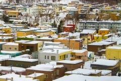 La scena di inverno Fotografia Stock Libera da Diritti