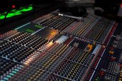 La scheda audio Immagine Stock Libera da Diritti