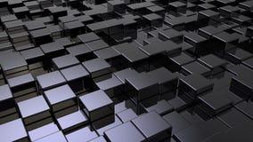La schiera di shinny i cubi Fotografie Stock