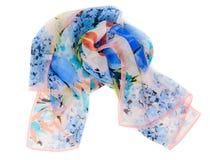 La sciarpa colorata ha rotolato in su in una sfera Immagine Stock Libera da Diritti