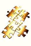 la scie sauteuse rapièce le puzzle Photographie stock