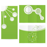 La science abstraite de molécule Image libre de droits