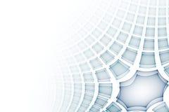 La science d'affaires ou fond abstraite de technologie illustration stock