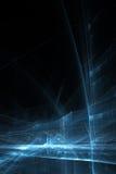 La science d'affaires ou fond abstraite de technologie