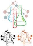 La science de chimie illustration stock