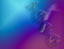 La Science de l'ADN Photos stock
