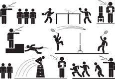 La Science de sports illustration de vecteur