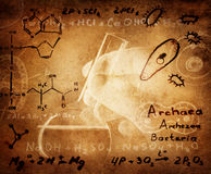 La Science et fond médical Photo libre de droits