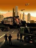 La science-fiction illustration de vecteur