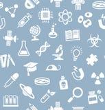 La Science, fond, sans couture, gris-bleu, vecteur illustration de vecteur