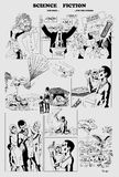 La Science pour certains Fiction pour les autres illustration de vecteur