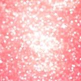 La scintilla rosa di scintillio di struttura o del fondo ha offuscato il abstrac leggero fotografia stock libera da diritti