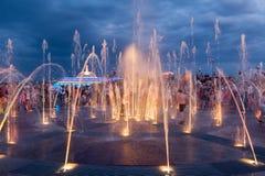 La scoperta della fontana Fotografia Stock Libera da Diritti