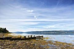 La Scozia: Acqua meravigliosa fotografie stock