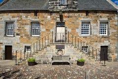 La Scozia, culross Fotografia Stock