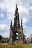 La Scozia, Edimburgo, monumento di scott Fotografia Stock Libera da Diritti