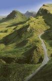 La Scozia. isola di skye. Fotografie Stock Libere da Diritti