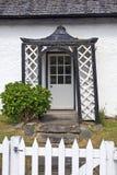 La Scozia, kenmore, vecchia porta Immagine Stock