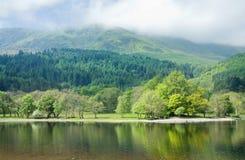 La Scozia, Loch Lubnaig fotografie stock