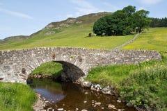 La Scozia, ponte di pietra nei higlands Immagini Stock