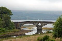 La Scozia, ponte inveraray Fotografia Stock