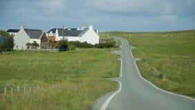 La Scozia Skye Island fotografia stock libera da diritti