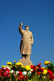 La sculpture de Mao de Président Images libres de droits