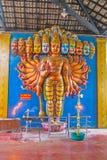 La sculpture de Vishnu Dashavatara Photographie stock