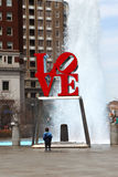 La sculpture en amour, Philadelphie, Pennsylvanie Photographie stock libre de droits